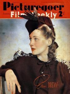 Ellen Drew (1915-200), American Actress, 1940