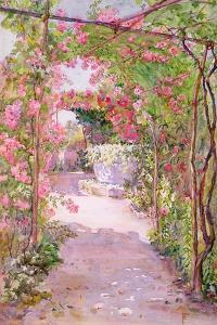 A Rose Arbour and Old Well, Venice by Ellen Fradgley