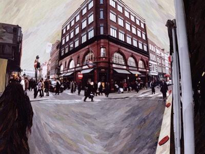 Turn Left for Neal Street, 1998 by Ellen Golla