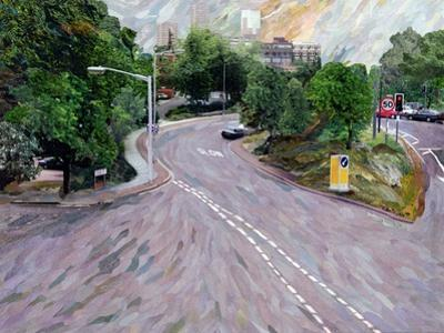 View from a Flyover by Ellen Golla