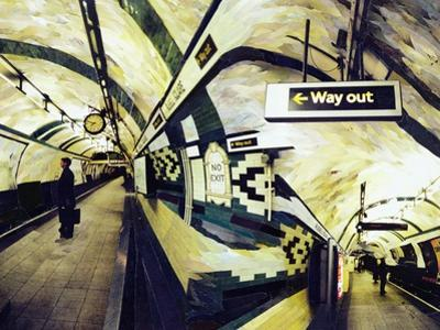 Way Out (Russell Square) 1998 by Ellen Golla