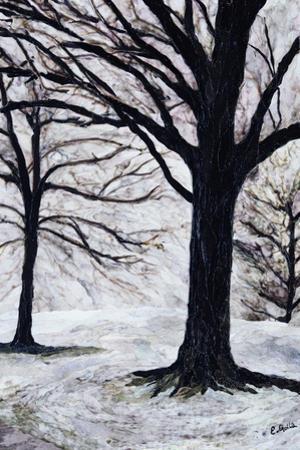 Winter Trees, Greenwich Park, 2004 by Ellen Golla