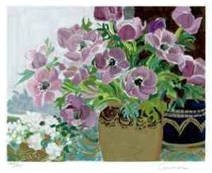 Anemones by Ellen Gunn
