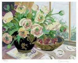 Spring Ranunculus by Ellen Gunn