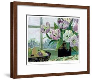 St. Tropez Tulips by Ellen Gunn