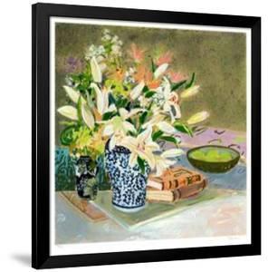 Still Life with Lilies I by Ellen Gunn