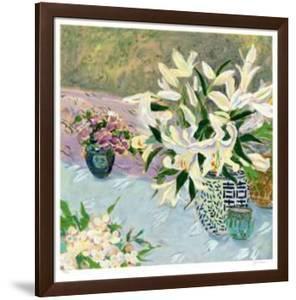 Still Life with Lilies II by Ellen Gunn