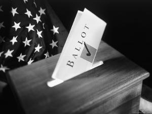 Ballot Box with Ballot by Ellen Kamp