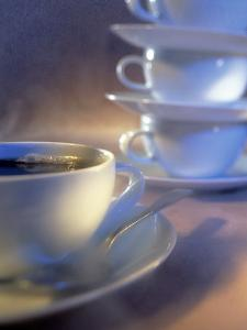 Coffee Cups Stacked by Ellen Kamp