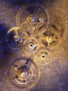 Gold Watch Gears by Ellen Kamp
