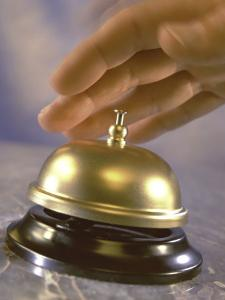 Hand Ringing Service Bell by Ellen Kamp