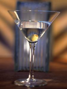 Martini with Olive by Ellen Kamp