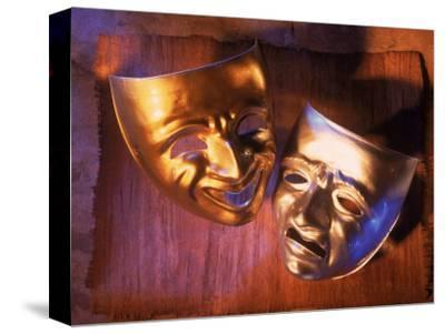 Two Theatre Masks (Comedy and Tragedy)