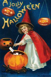 Jolly Hallowe'en by Ellen M. Clapnoddle