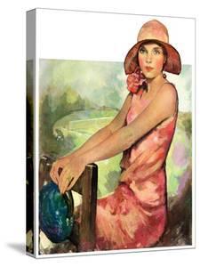 """Pretty in Pink,""August 2, 1930 by Ellen Pyle"
