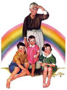 """""""Rainbow,""""March 28, 1936 by Ellen Pyle"""