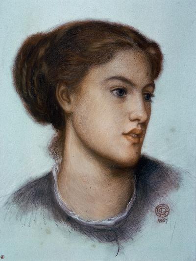 Ellen Smith, 1867-Dante Gabriel Rossetti-Giclee Print