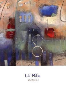City Houses II by Elli Milan
