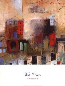 City Houses III by Elli Milan