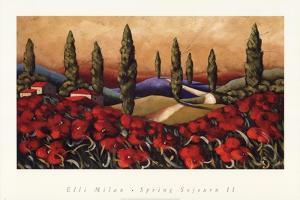 SPRING SOJOURN II by Elli Milan