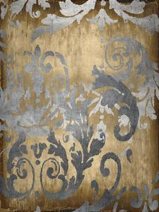 Damask in Gold I by Ellie Roberts