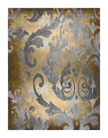 Damask in Gold II
