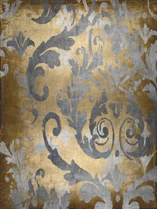 Damask in Gold II by Ellie Roberts