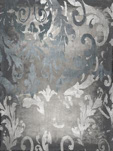 Damask in Silver I by Ellie Roberts