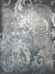 Damask in Silver II by Ellie Roberts