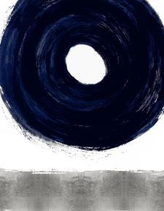 Glide Blue I by Ellie Roberts