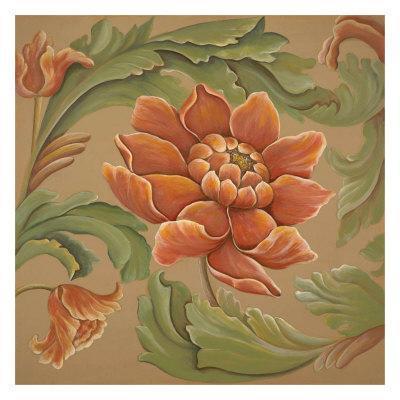 Baroque Flower I