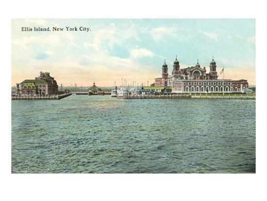 Ellis Island, New York City--Art Print