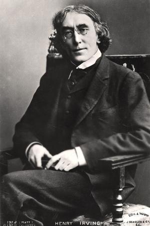 Harry Brodribb Irving (1870-191), English Actor, 1905