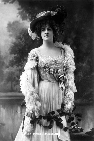 Marie Studholme (1875-193), English Actress, 1900s