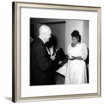 Mahalia Jackson, Dwight D. Eisenhower 1959
