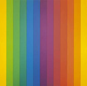 Spectrum IV by Ellsworth Kelly