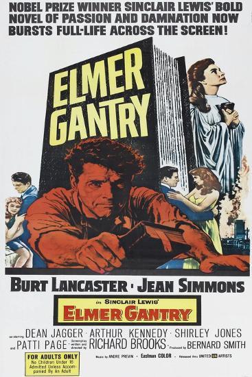 Elmer Gantry--Art Print