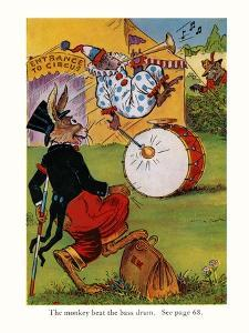 The Monkey Beat The Bass Drum by Elmer Rache