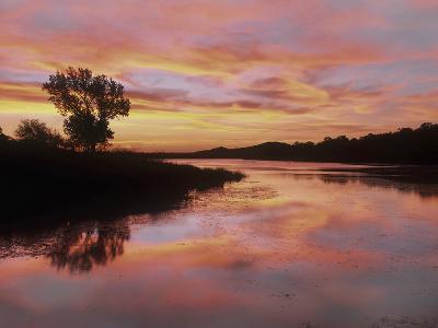 Elmer Thomas Lake, Wichita Mountains National Wildlife Refuge, Oklahoma-Tim Fitzharris-Photographic Print