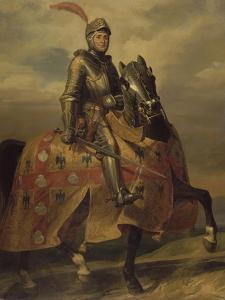 André de Montfort de Laval, seigneur de Loheac, amiral en 1437, Maréchal de France en 1439 by Eloi Firmin Feron