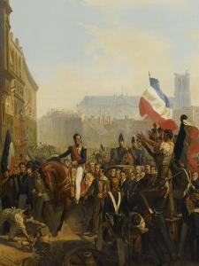 Louis Philippe, duc d'Orléans (futur roi Louis-Philippe) , lieutenant génér by Eloi Firmin Feron