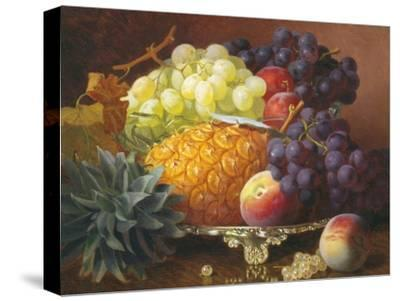 Still Life of Grapes and Pineapples