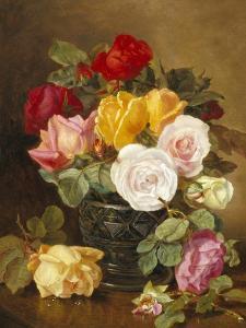 Still Life of Roses by Eloise Harriet Stannard