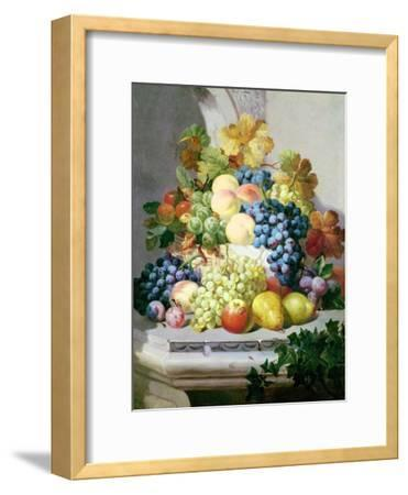 Still Life with Grapes and Pears