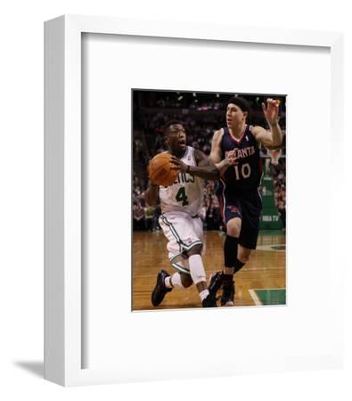 Atlanta Hawks v Boston Celtics: Nate Robinson and Mike Bibby