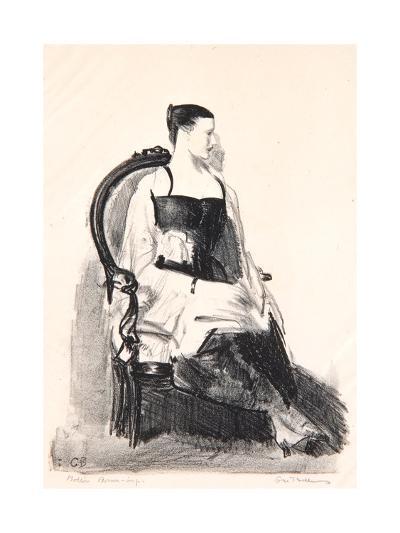 Elsie, Figure, 1921-George Wesley Bellows-Giclee Print