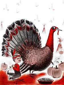 Mr. Turkey - Child Life by Elsie Fowler