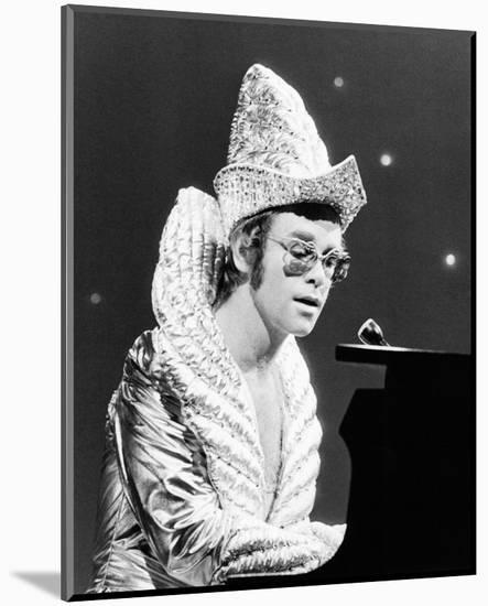 Elton John--Mounted Photo
