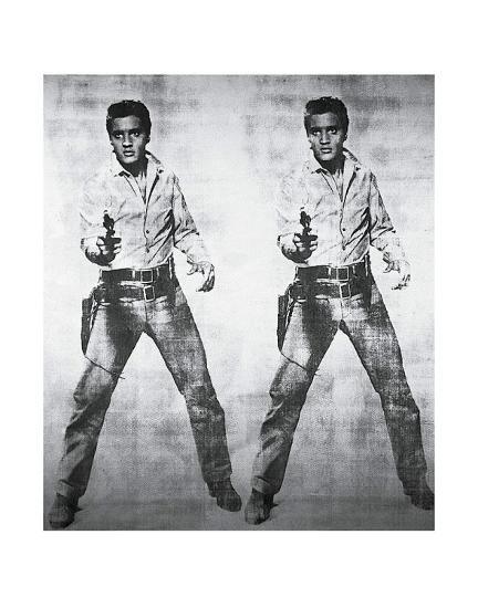 Elvis, 1963-Andy Warhol-Art Print