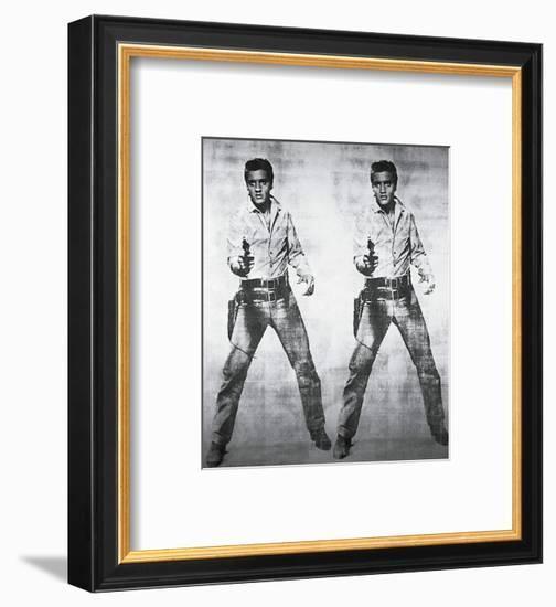 Elvis, 1963-Andy Warhol-Framed Art Print